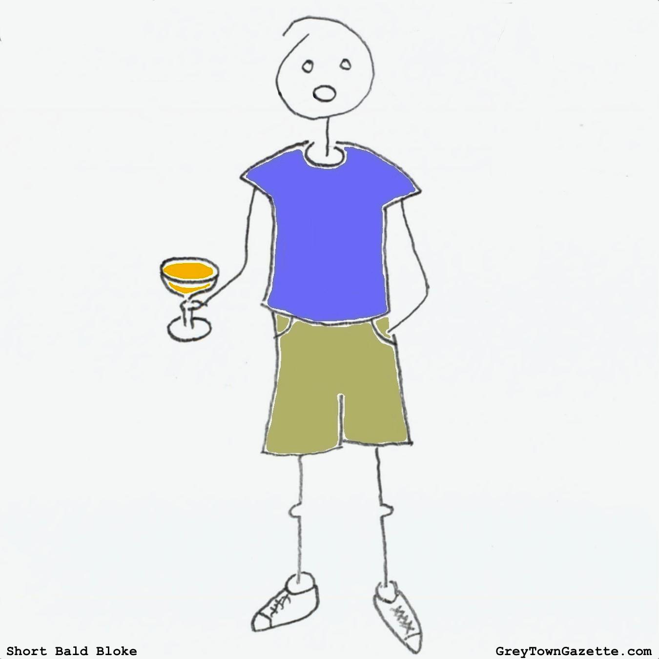 Short Bald Bloke